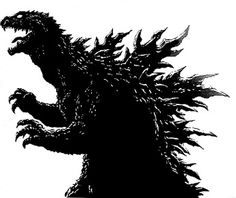 Godzilla svg #7, Download drawings