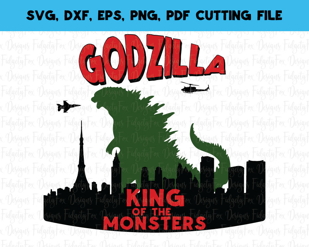 Godzilla svg #6, Download drawings