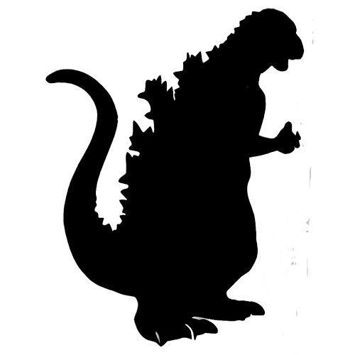 Godzilla svg #17, Download drawings