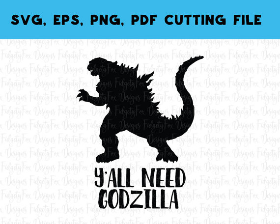 Godzilla svg #11, Download drawings