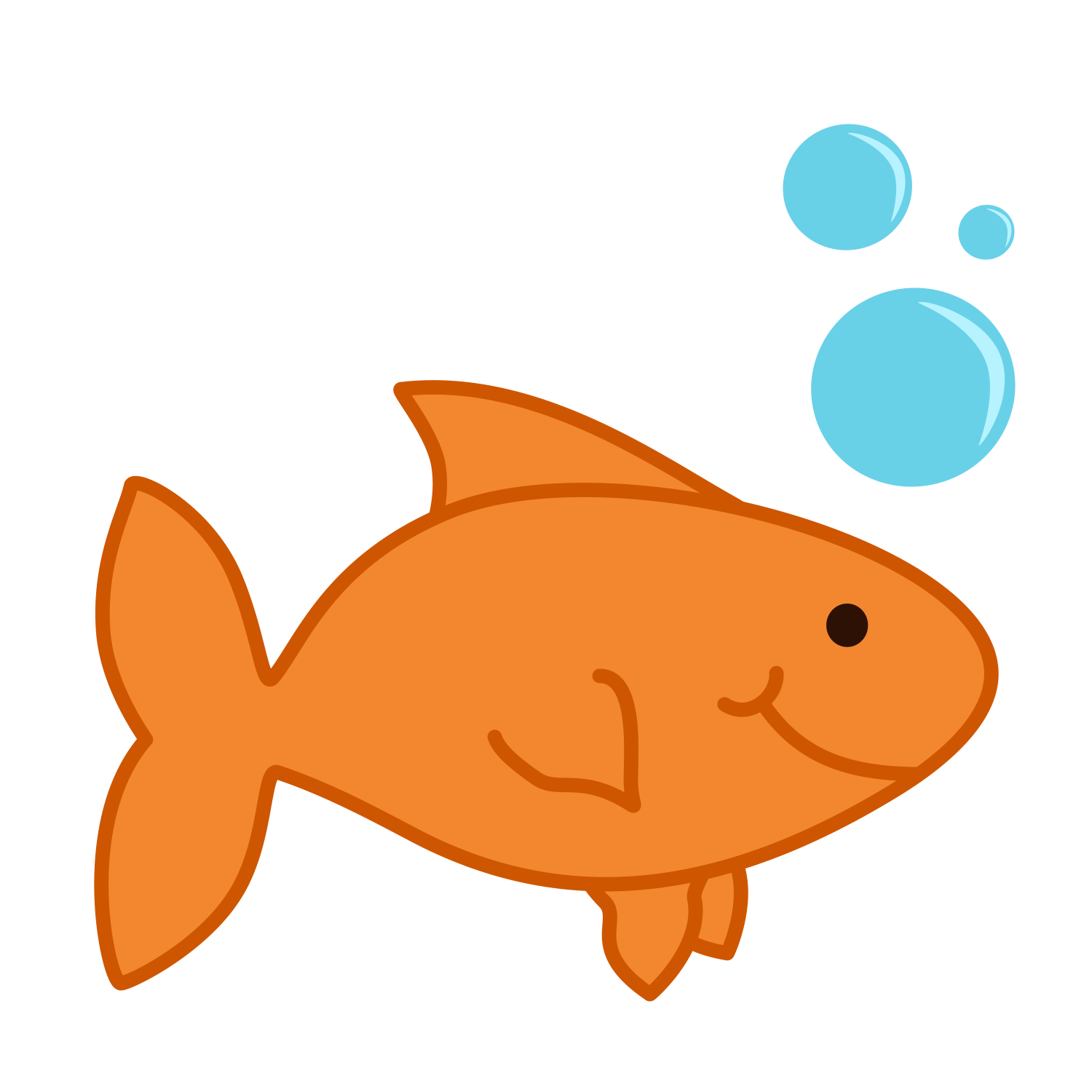 Gold Fish clipart #13, Download drawings