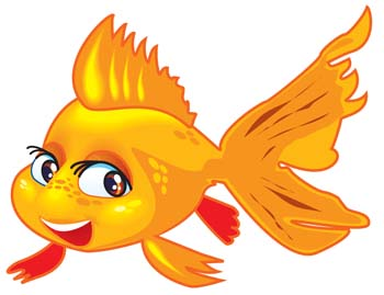 Gold Fish clipart #9, Download drawings