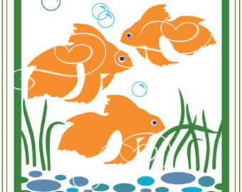 Gold Fish svg #17, Download drawings