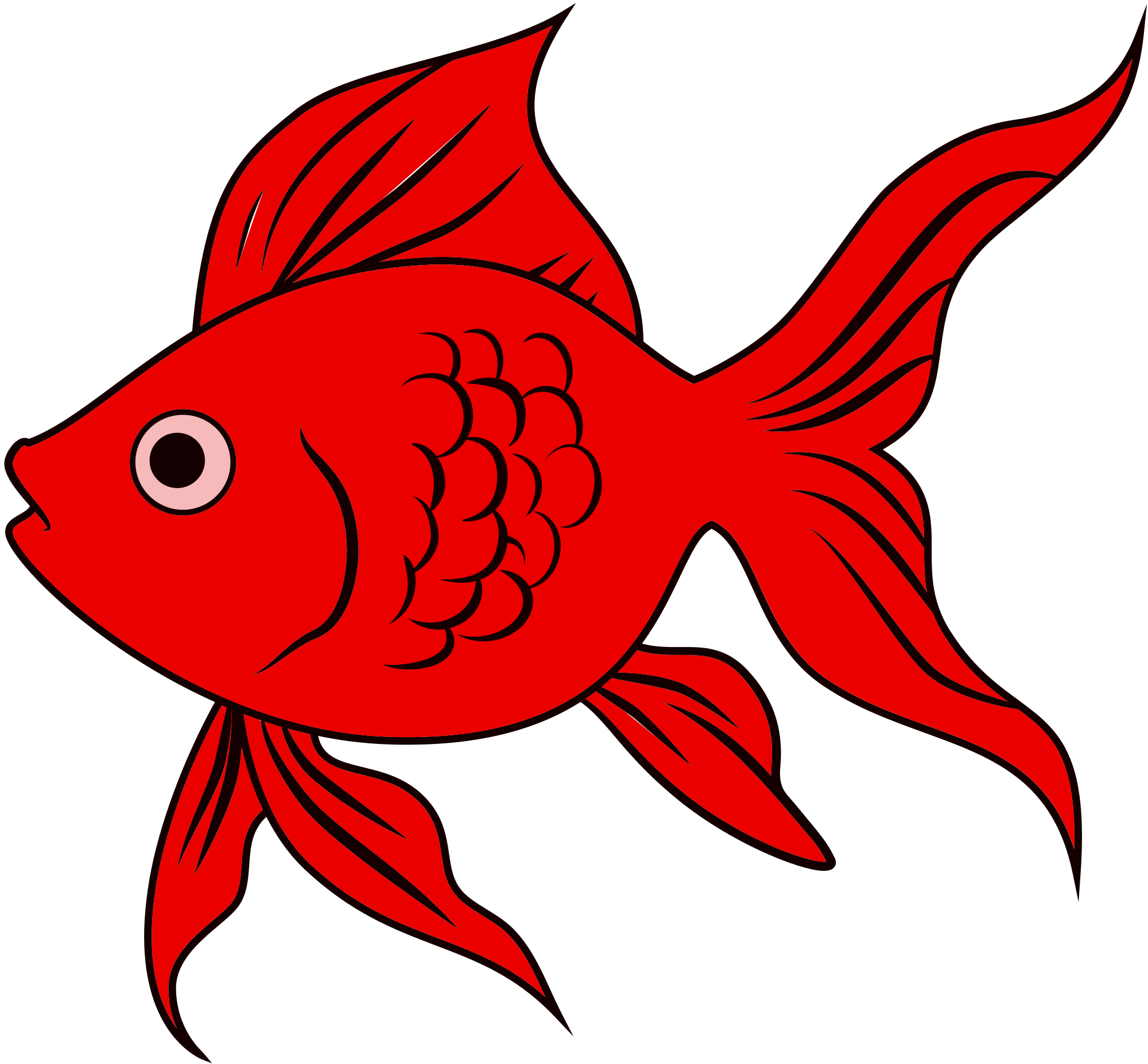 Goldfish svg #20, Download drawings