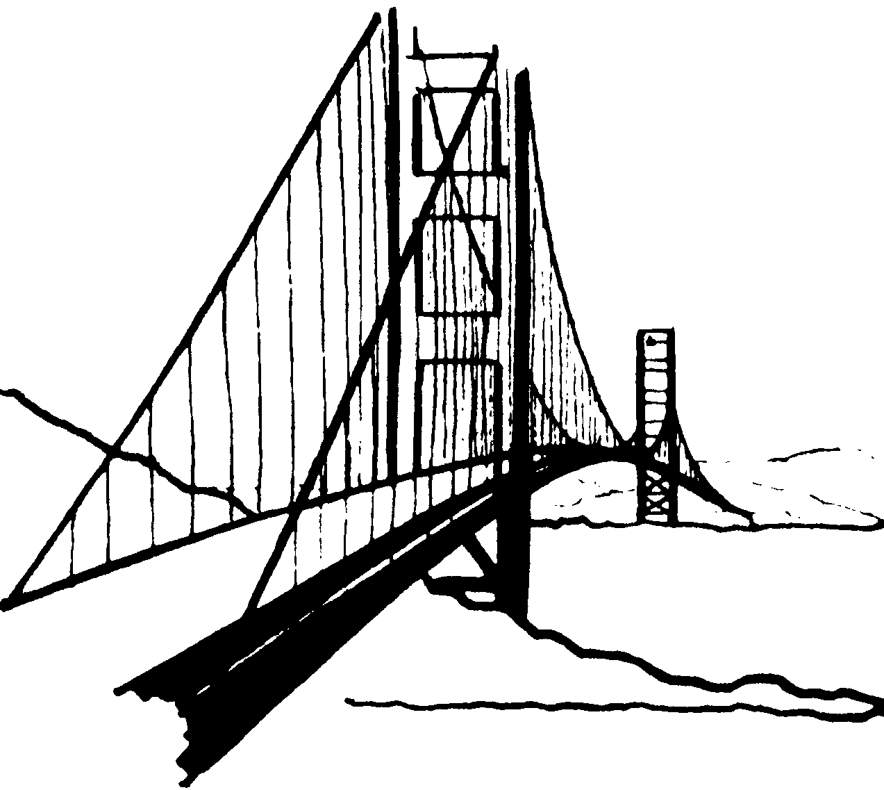 Golden Gate clipart #1, Download drawings
