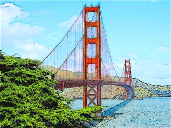 Golden Gate clipart #12, Download drawings