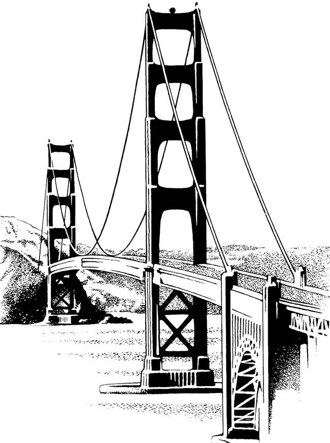 Golden Gate clipart #9, Download drawings
