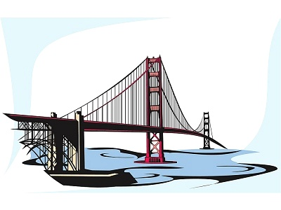 Golden Gate clipart #11, Download drawings