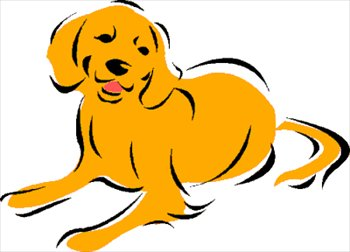 Retriever clipart #1, Download drawings