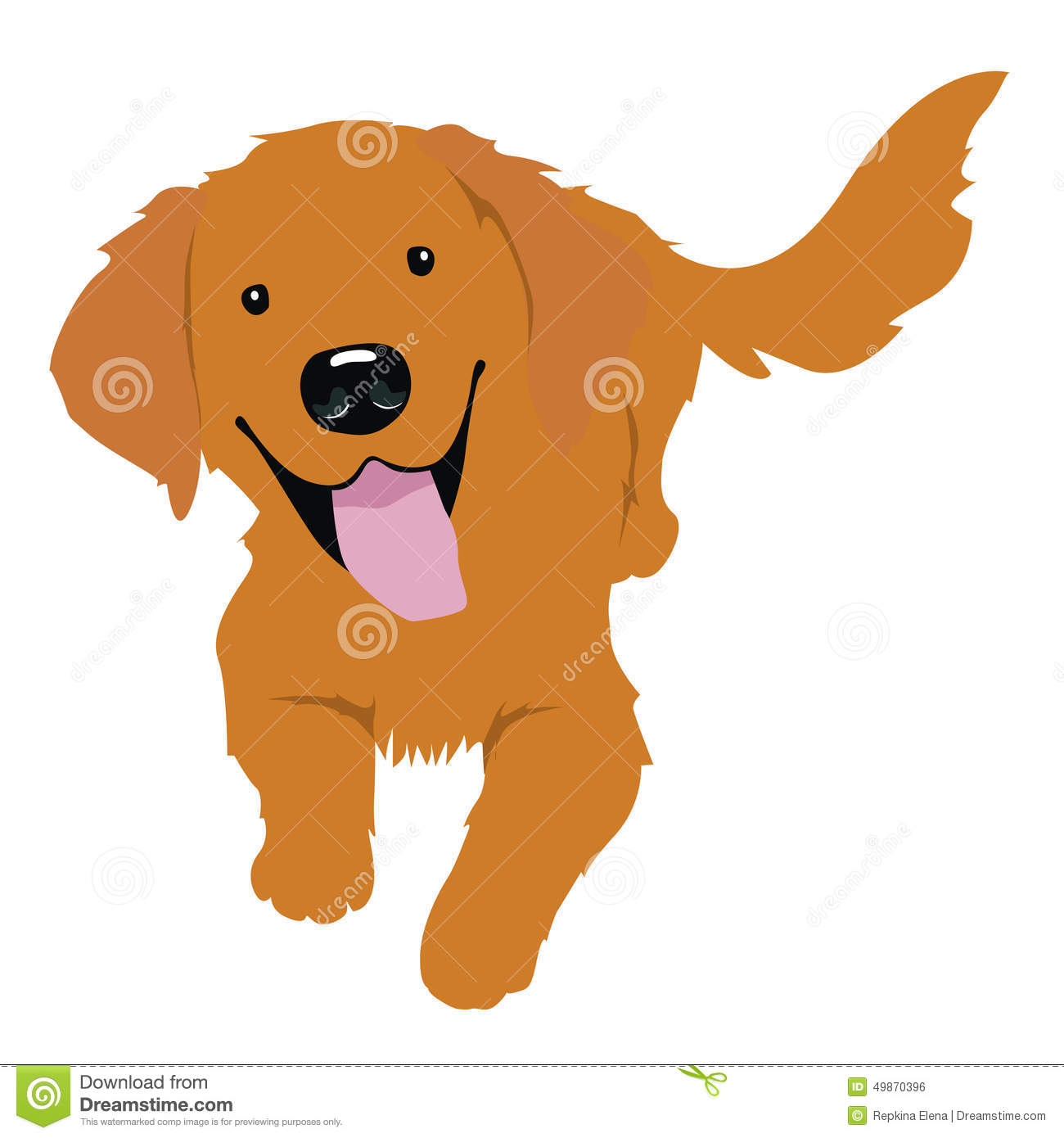Golden Retriever clipart #7, Download drawings