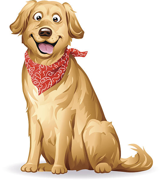 Retriever clipart #2, Download drawings