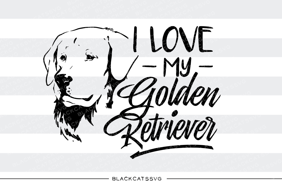 Golden Retriever svg #5, Download drawings