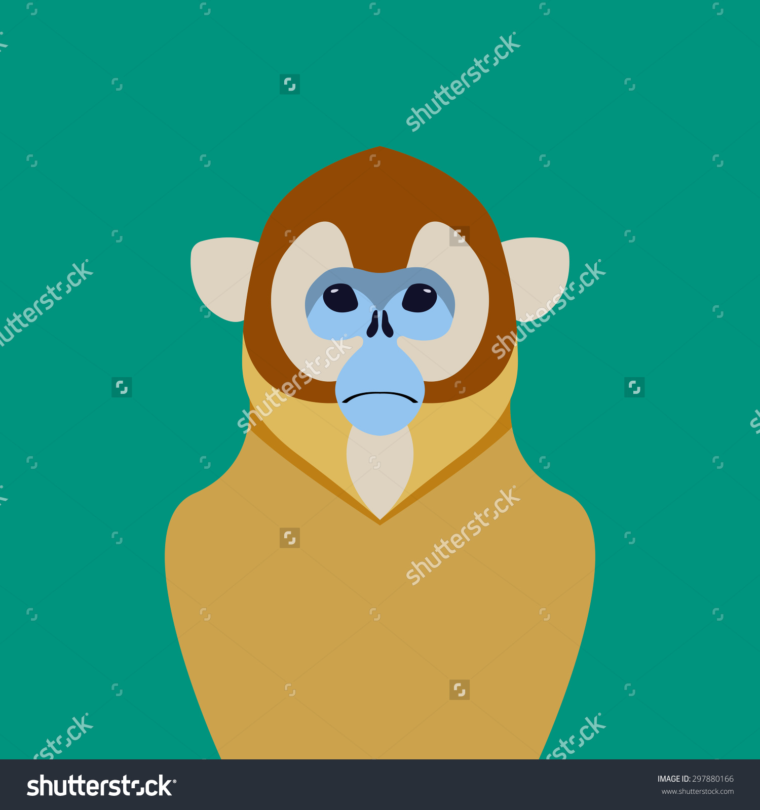 Golden Snub-nosed Monkey clipart #16, Download drawings