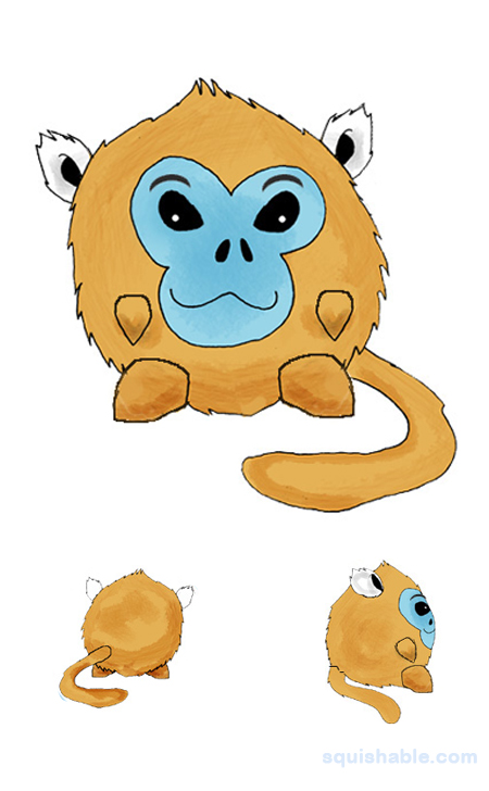 Golden Snub-nosed Monkey clipart #9, Download drawings