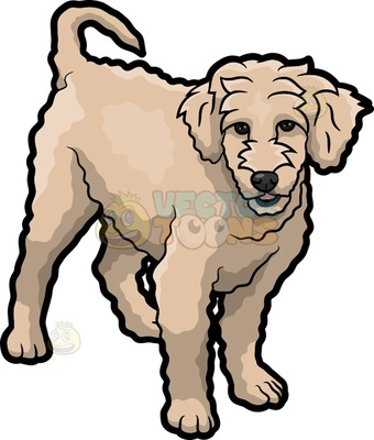Goldendoodle clipart #7, Download drawings