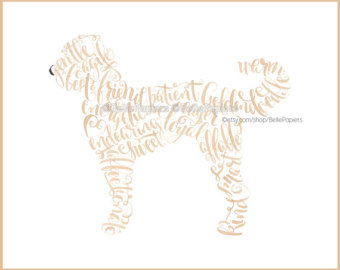 Goldendoodle svg #4, Download drawings