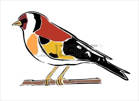 Goldfinch clipart #1, Download drawings