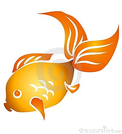 Gold Fish clipart #2, Download drawings