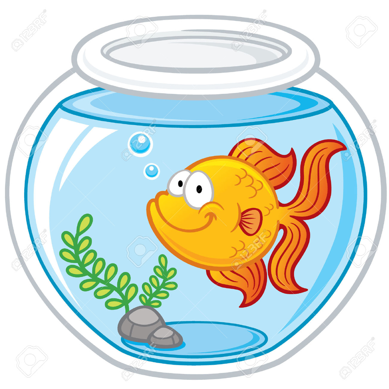 Goldfish clipart #2, Download drawings