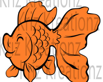 Goldfish svg #8, Download drawings
