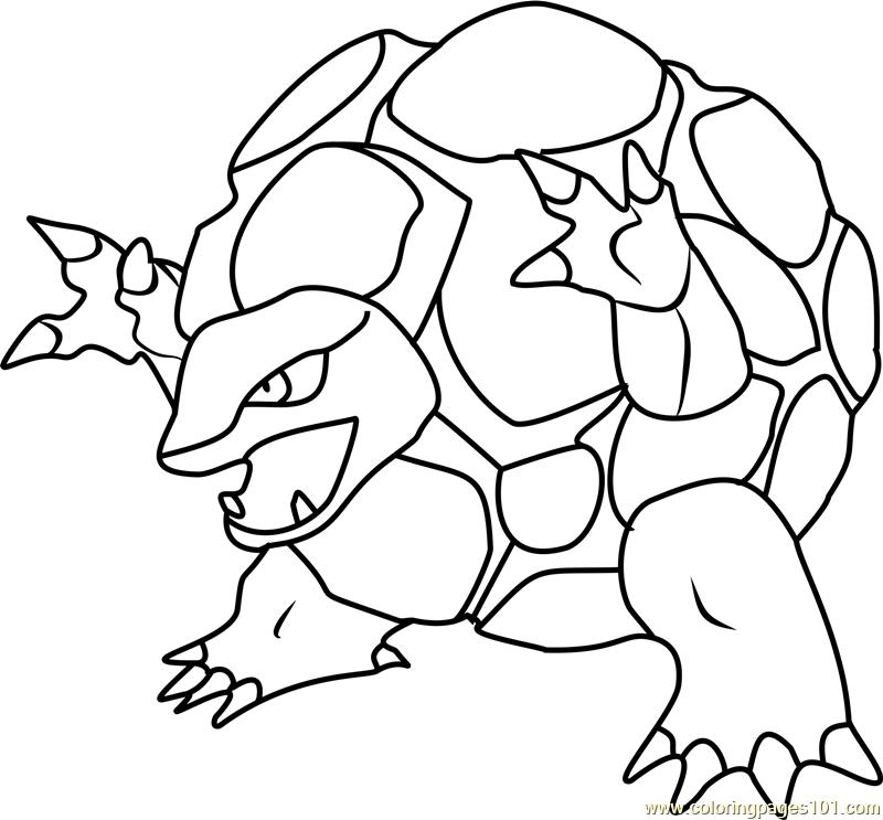 Golem coloring #3, Download drawings