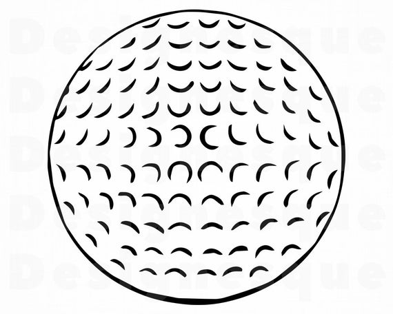 golf ball svg #644, Download drawings