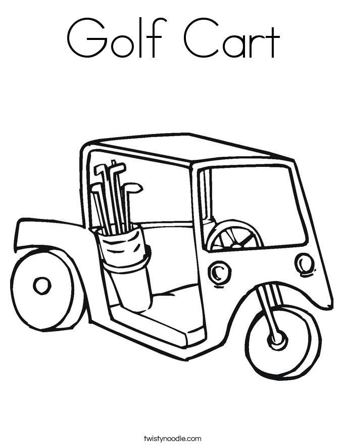 Golf coloring #16, Download drawings