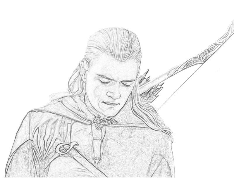 Gollum coloring #6, Download drawings