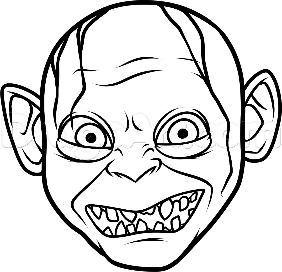 Gollum svg #13, Download drawings