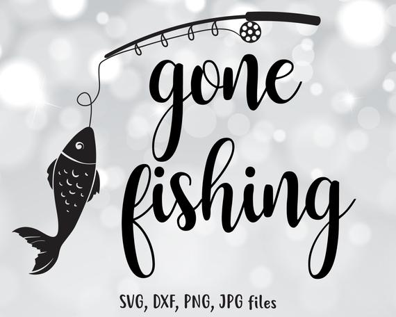 gone fishing svg #1230, Download drawings