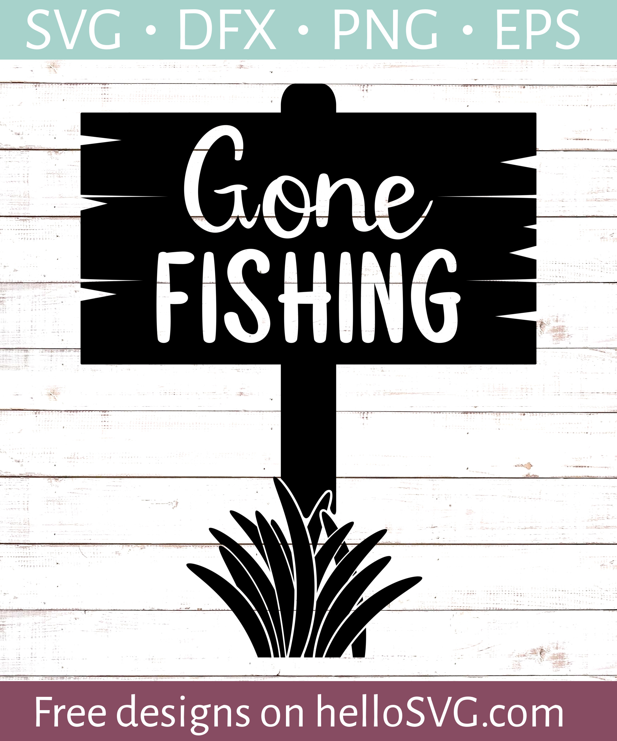 gone fishing svg #1228, Download drawings