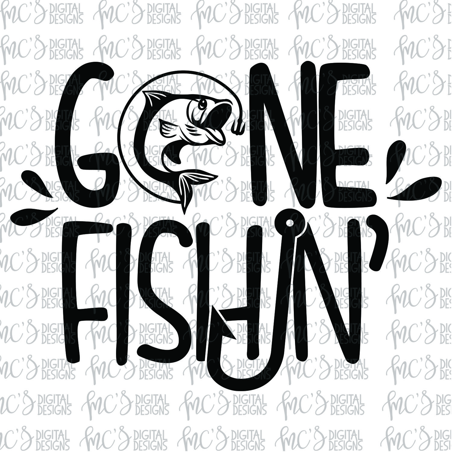 gone fishing svg #1224, Download drawings