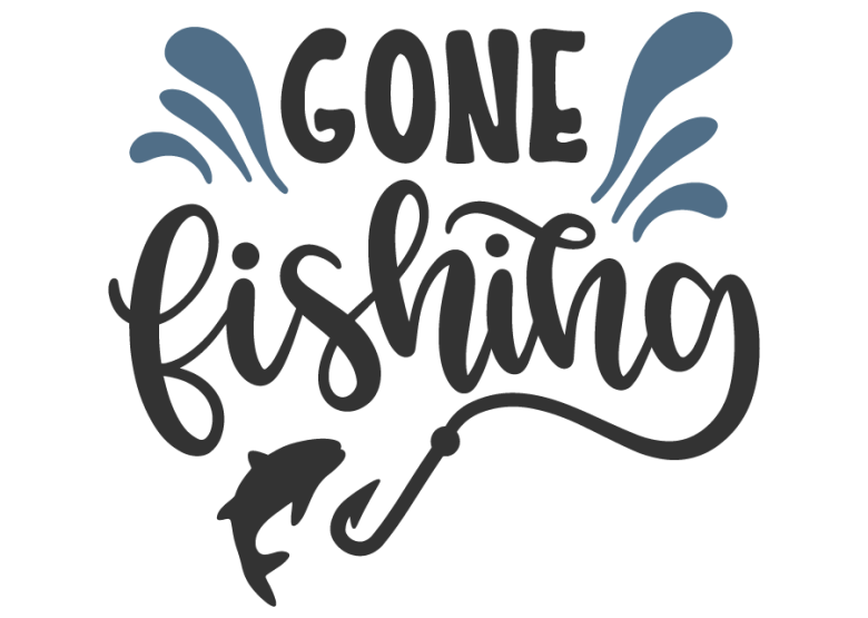 gone fishing svg #1227, Download drawings