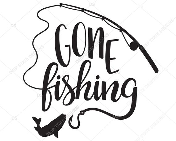 gone fishing svg #1233, Download drawings