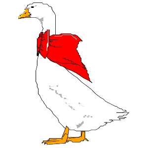 Goose clipart #3, Download drawings