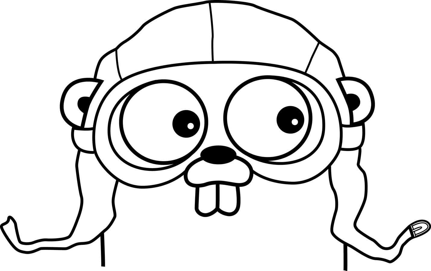 Gopher svg #17, Download drawings