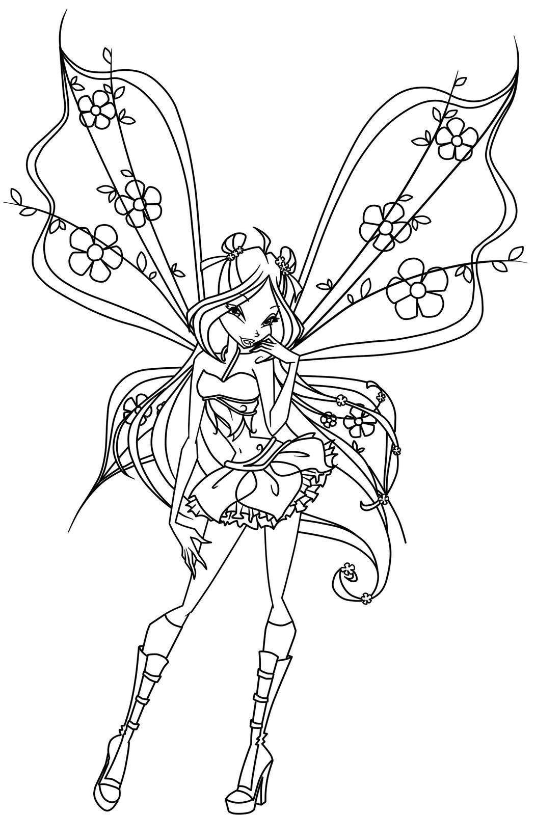 Gorgeous Fairies! coloring #13, Download drawings