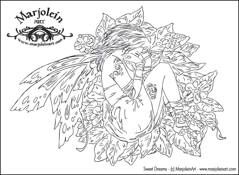 Gorgeous Fairies! coloring #15, Download drawings