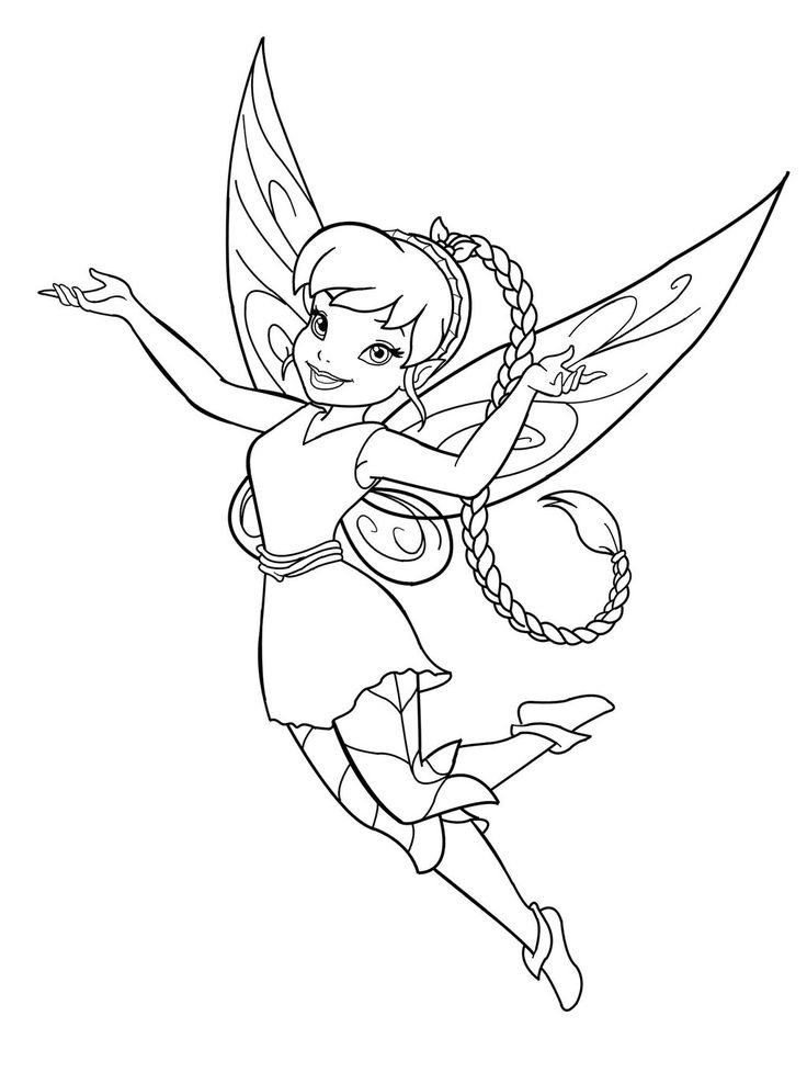 Gorgeous Fairies! coloring #4, Download drawings