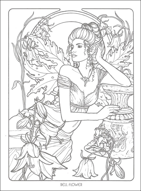 Gorgeous Fairies! coloring #20, Download drawings