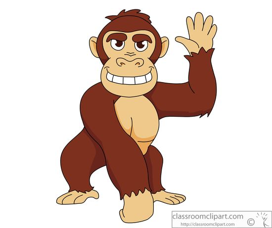 Gorilla clipart #7, Download drawings