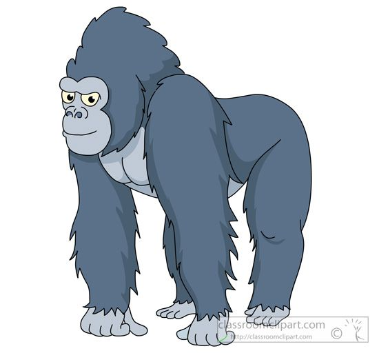 Gorilla clipart #16, Download drawings