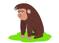 Gorilla clipart #9, Download drawings