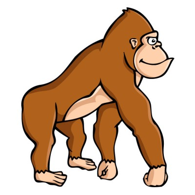 Gorilla clipart #14, Download drawings