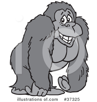 Gorilla clipart #13, Download drawings