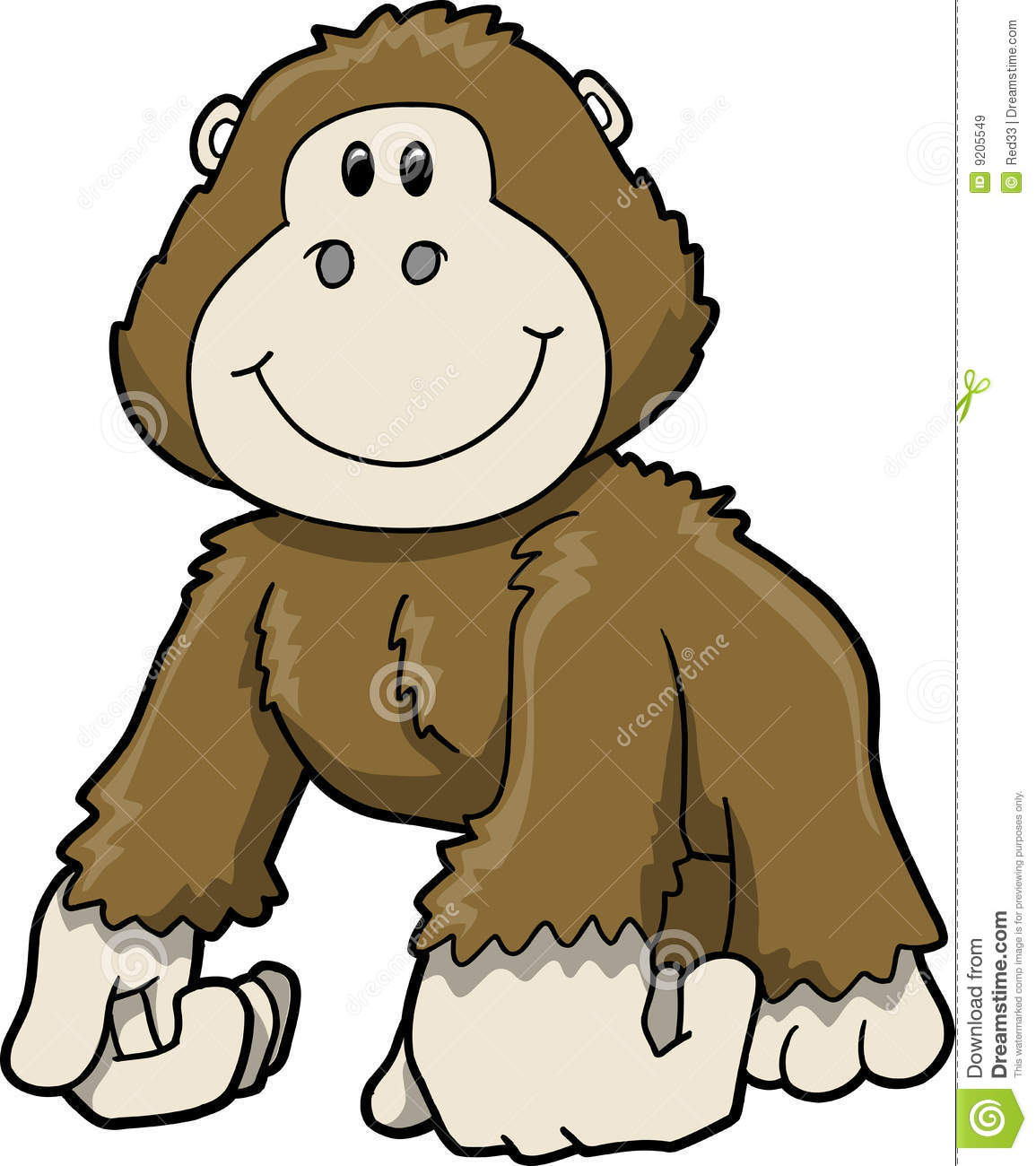 Gorilla clipart #17, Download drawings
