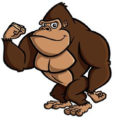 Gorilla clipart #2, Download drawings