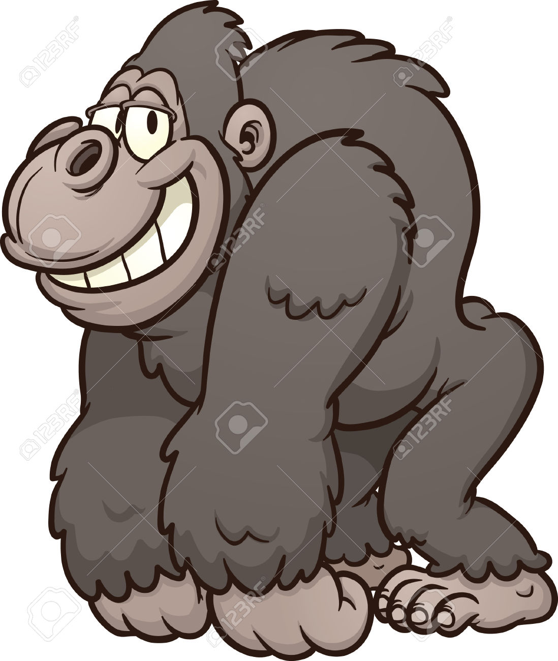 Gorilla clipart #6, Download drawings