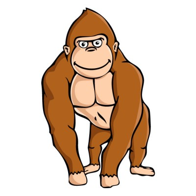 Gorilla clipart #5, Download drawings