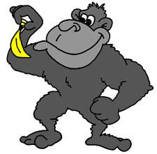 Gorilla clipart #8, Download drawings